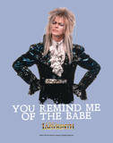 Labyrinth-Babe Prints by Jim Henson