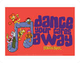 Fraggle Rock-Dance Your Cares Away Art by Jim Henson