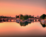 Pont neuf Poster by AG 