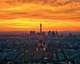 Sunset from Montparnasse Posters by  AG