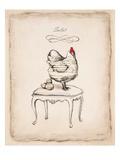 Salut Chick Pôsters por Emily Adams