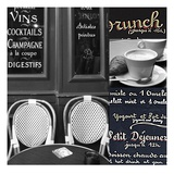 French Café 2 Posters by Cameron Duprais