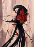 Lilou Paris et Romance I Prints by Aurélie Rhumeur