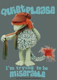 Fraggle Rock-Quiet Please Prints by Jim Henson