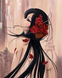 Lilou Paris et Romance I Posters by Aurélie Rhumeur