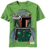 Youth: Lego Star Wars - Boba Lego Face Shirt