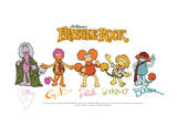 Fraggle Rock-Franggle Rock Signatures Prints by Jim Henson
