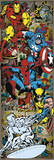 Marvel Comics - Heroes Retro Poster