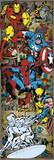 Marvel Comics - Heroes Retro - Poster