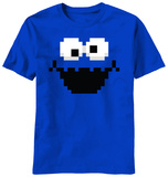 Sesame Street - Cookie Pixel Shirts