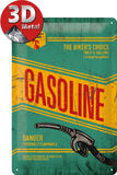 Gasoline Tin Sign