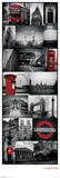 London - Collage Julisteet