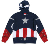 Zip Hoodie: Captain America - Future Captain Shirt