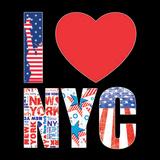 I love NY Affischer