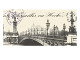 Bridge Premium Giclee Print by  Z Studio