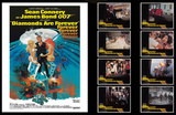 James Bond Lobby Card Set -Diamonds are Forever Prints