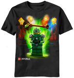 Youth: Lego Ninjago - Extreme Green T-shirts