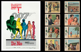 James Bond Lobby Card Set -Dr.No Print