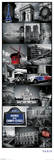 Paris - Collage Affiches