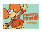 Fraggle Rock-Red'S Fraggrrrl Power Prints by Jim Henson