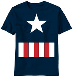 Youth: Captain America - The Great Star Tshirts