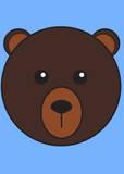 Brown Bear Prints