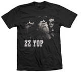 ZZ Top - Black Photo T-Shirt