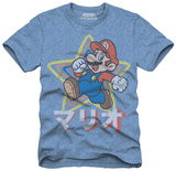 Super Mario Brothers - Mario Star T-shirts