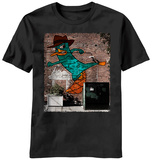 Phineas and Ferb - Perry Wall T-shirts