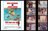 James Bond Lobby Card Set -You Only Live Twice Prints