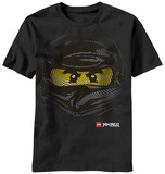 Youth: Lego Ninjago - Cole Face T-Shirt