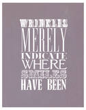 Wrinkles Merely Indicate Láminas
