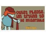 Fraggle Rock-Miserable Boober Prints by Jim Henson