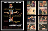 James Bond Lobby Card Set -Goldfinger Poster