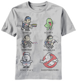 Ghostbusters - 8 Bit Busters (Slim Fit) Shirts