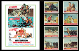 James Bond Lobby Card Set -Thunderball Posters