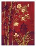 Bamboo Garden Posters by Laurel Lehman