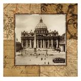 Vatican Dome Giclée-Druck von Studio Voltaire