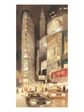 Midtown Glow Prints by Paulo Romero