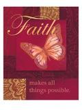 Faith Tapestry Affiches par Laurel Lehman