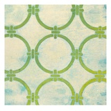 Circle Lattice Giclee Print by Hope Smith
