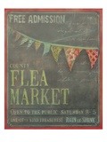 Country Flea Market Poster by Mandy Lynne