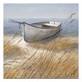 Shoreline Boat Prints by Arnie Fisk