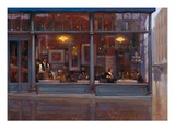 Fifth Avenue Cafe 2 Premium Giclee Print by Brent Lynch
