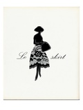 Little Black Skirt Print by  Studio 5