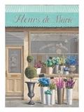 Flower Store Errand Posters par Marco Fabiano