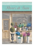 Flower Store Errand Giclee Print by Marco Fabiano
