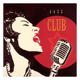 Jazz Club Giclee Print by Marco Fabiano