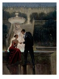 Twilight Romance Premium Giclee Print by Brent Lynch