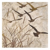 Birds in Flight 1 Reproduction proc&#233;d&#233; gicl&#233;e par Melissa Pluch